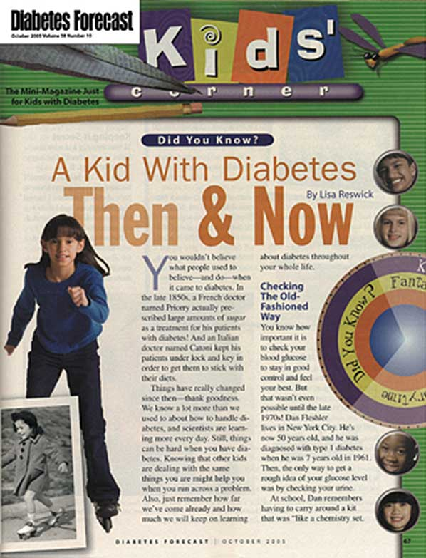 Diabetes Forecast - kidscorner